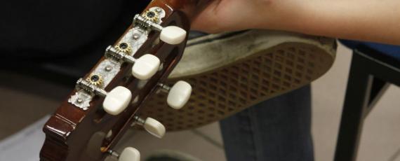 Hogere module gitaar